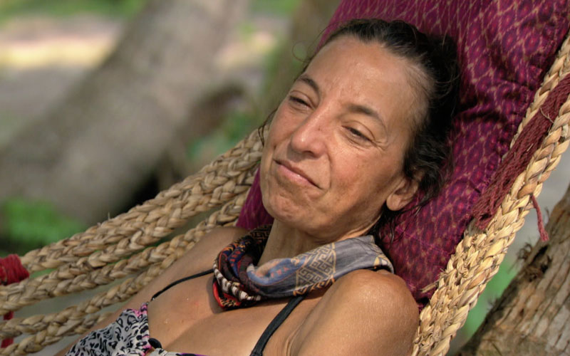 Debbie Wanner, Survivor, hammock