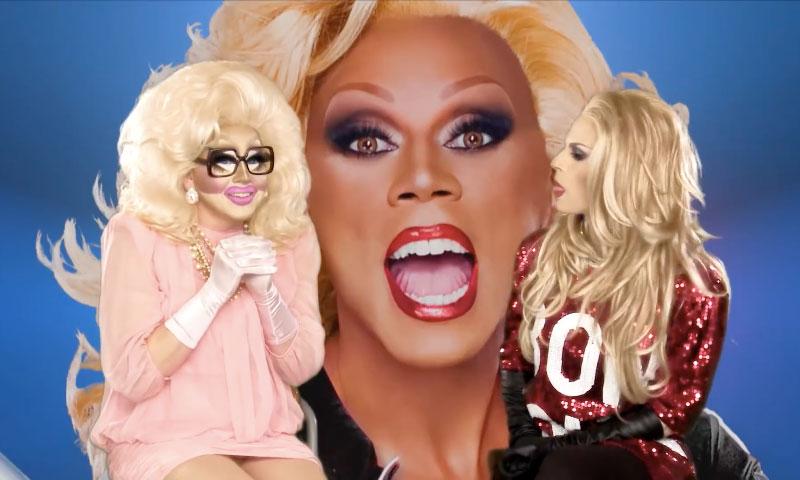 Trixie Mattel, Katya Zamolodchikova, RuPaul, RuPaul's Drag Race