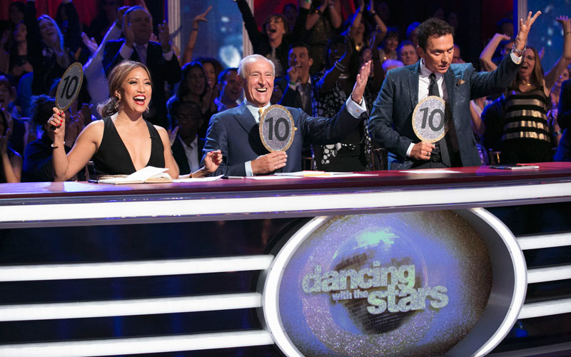 Dancing with the Stars, season 22, judges, Carrie Ann Inaba, Len Goodman, Bruno Tonioli