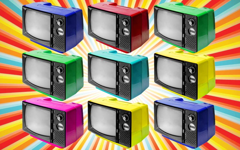 retro TVs, first reality TV show