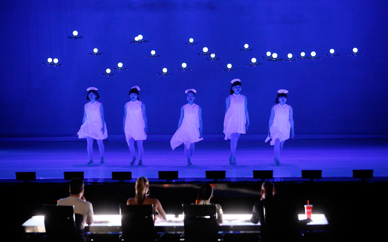 Elevenplay, drones, dance, America's Got Talent