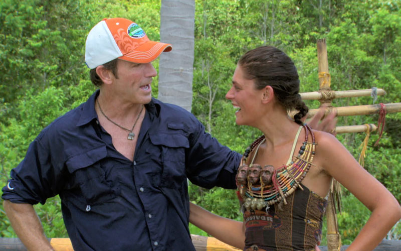 Survivor, Jeff Probst, Michele Fitzgerald