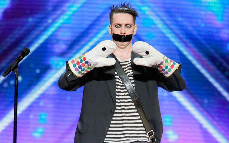 Tape Face Boy, America's Got Talent 11