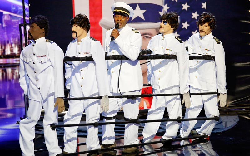 America's Got Talent 11, Christopher, In the Navy, puppets