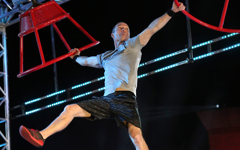 Chad Hohn, American Ninja Warrior, Atlanta finals