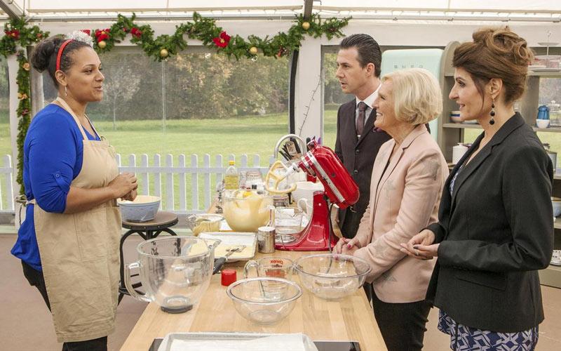 ABC, Great Holiday Baking Show, Nicole Silva, Mary Berry, Johnny Iuzzini, Nia Vardalos