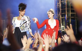 Alicia Keys, Miley Cyrus, The Voice