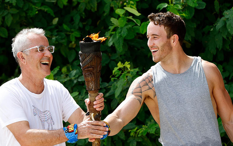 Australian Survivor, Peter Fiegehen, Sam Webb
