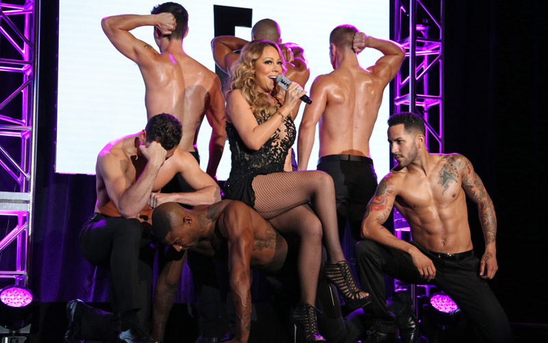 Mariah Carey, Mariah's World, E!, TCA