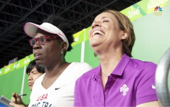 Leslie Jones, Mary Carillo, NBC, Olympics, Rio