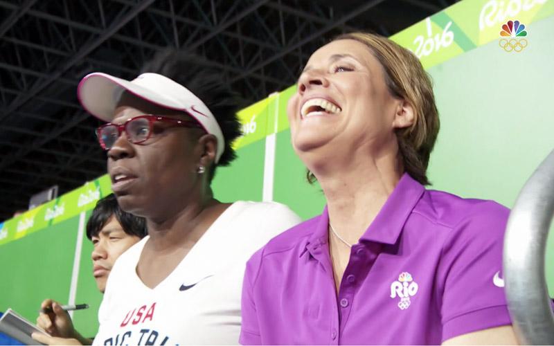 Leslie Jones, Mary Carillo, NBC, Olympics, Rio