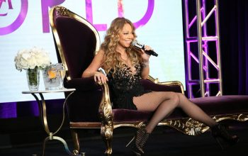 Mariah Carey, TCA, throne couch