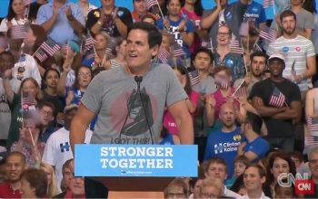 Mark Cuban, Hillary Clinton endorsement, CNN