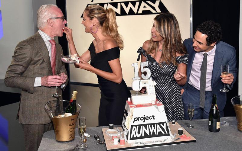 Project Runway season 15, Tim Gunn, Heidi Klum, Nina Garcia, Zac Posen