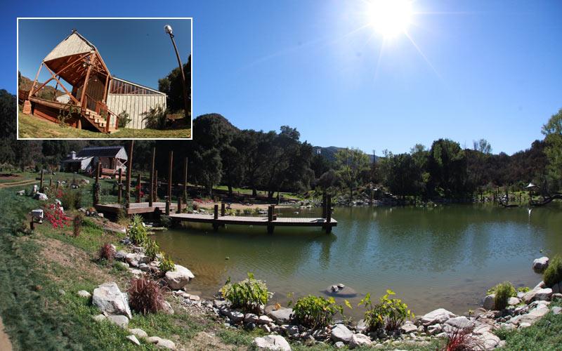 Utopia, set, Sable Ranch, Santa Clarita, California