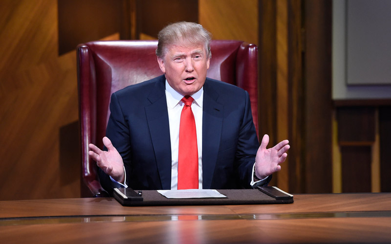 Donald Trump, Celebrity Apprentice 7 finale