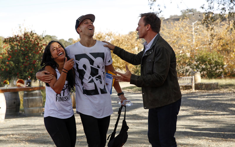 Amazing Race 28, Dana, Matt, Phil Keoghan
