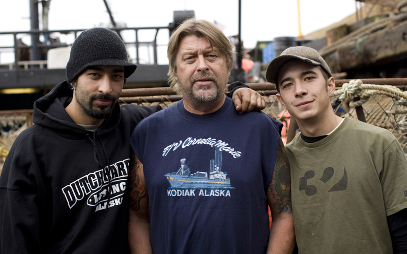 Deadliest Catch, Josh Harris, Phil Harris, Jake Harris