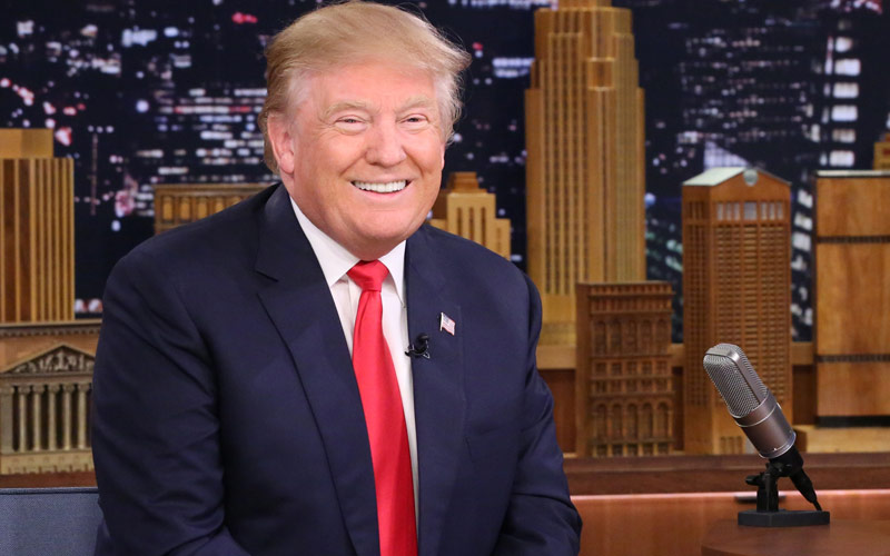 Donald Trump, Tonight Show with Jimmy Fallon
