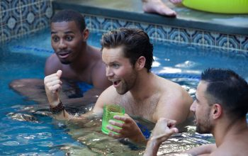 Finding Prince Charming, Dillon and Robby in the pool