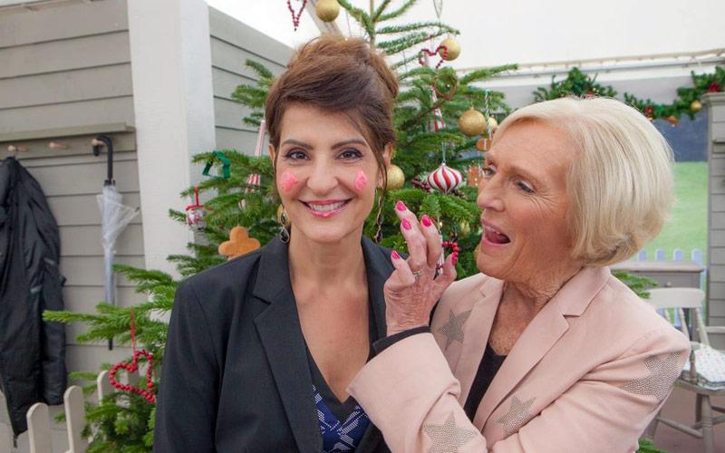 Great American Baking Show, Nia Vardalos, Mary Berry