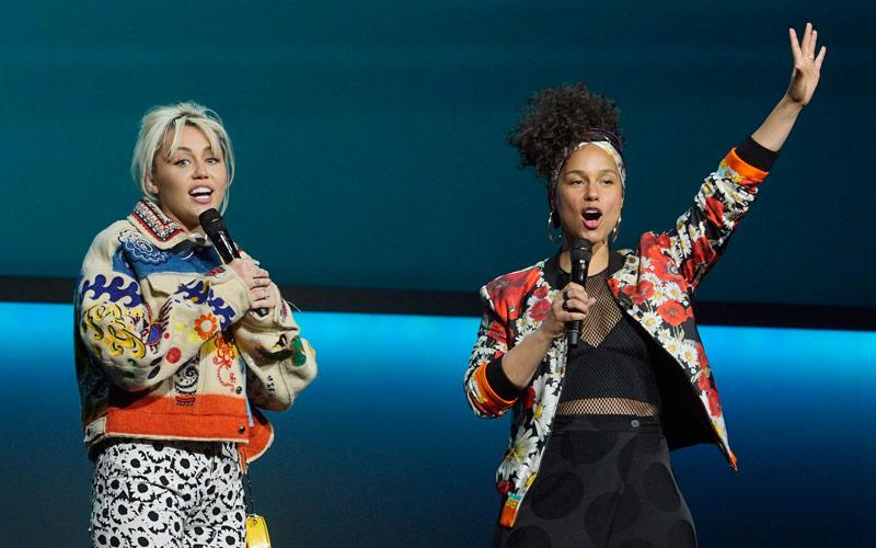 Miley Cyrus, Alicia Keys, The Voice season 11
