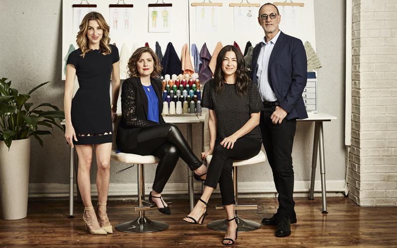 Project Runway Fashion Startup investors, Katie Beauchamp, Christine Hunsicker, Rebecca Minkoff, Gary Wassner