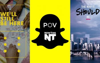 "Snapchat POV documentaries ""We'll Still Be Here"" and ""The Way it Should Be"""