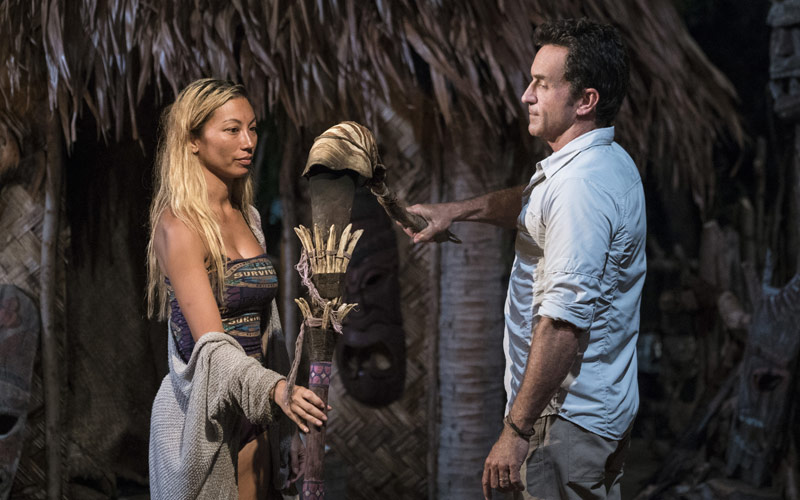 Survivor, Rachel Ako, Jeff Probst, Tribal Council