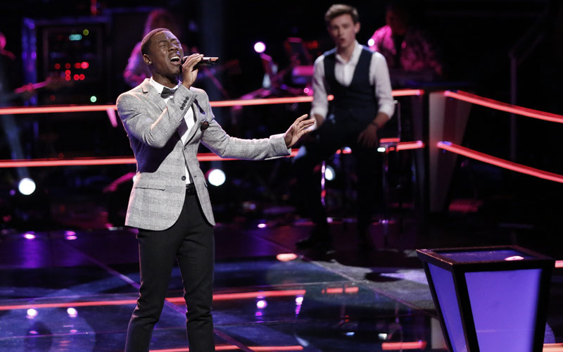 The Voice season 11, Jason Warrior and Riley Elmore, Knockout Round