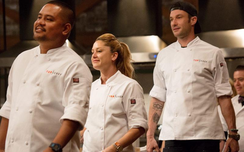 Top Chef Charleston, Sheldon Simeon, Brooke Williamson, Sam Talbot