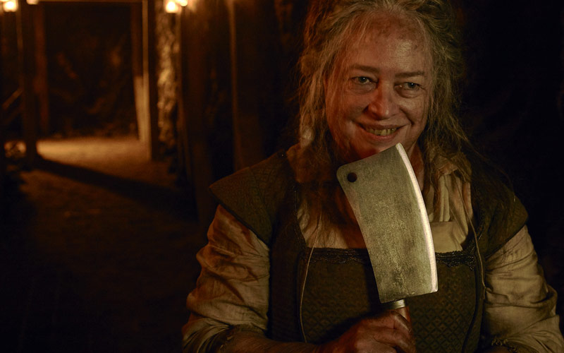 Kathy Bates, American Horror Story Roanoke, The Butcher