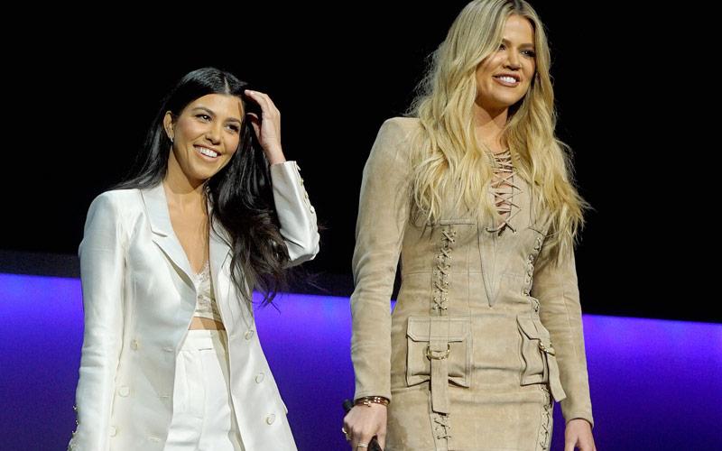 Kourtney, Khloe Kardashian