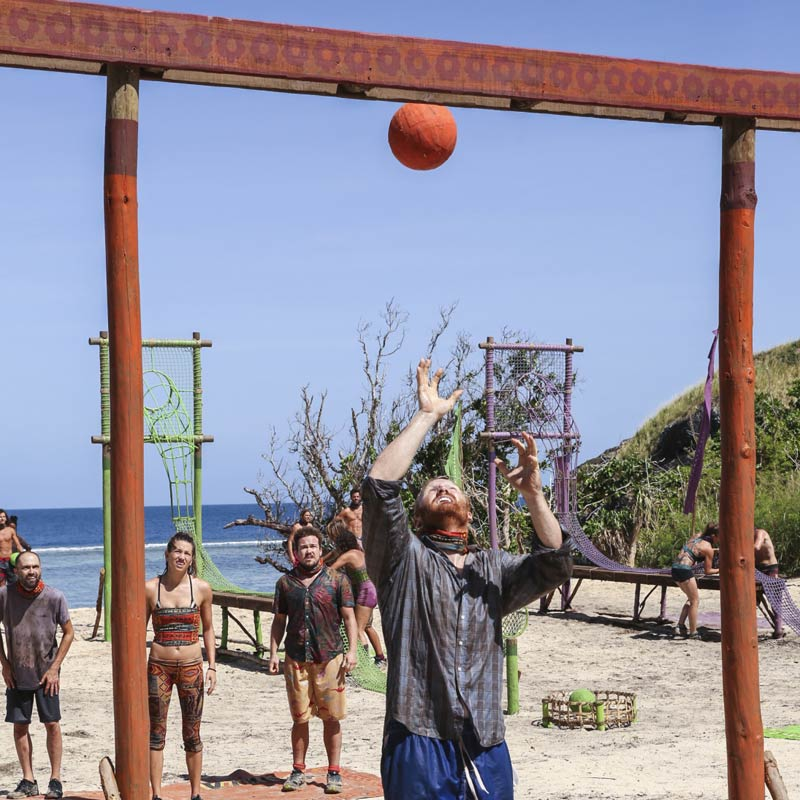 Survivor, Chris Hammons, challenge balls
