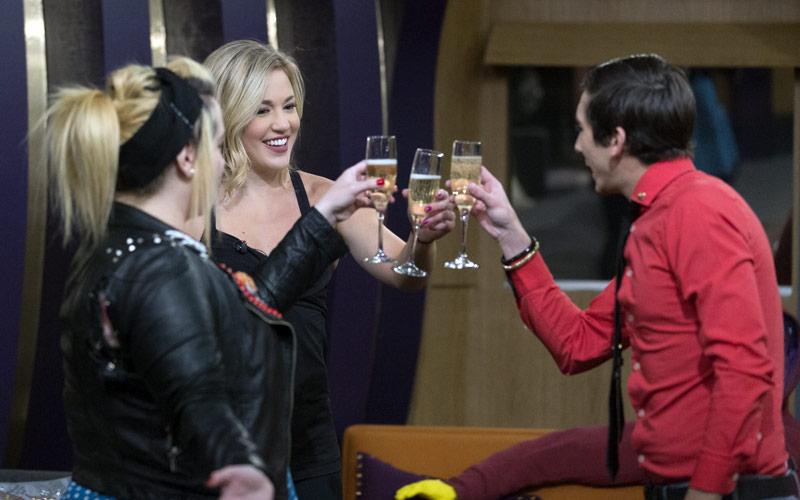 Big Brother: Over the Top finalists, Kryssie Ridolfi, Morgan Willett, Jason Roy