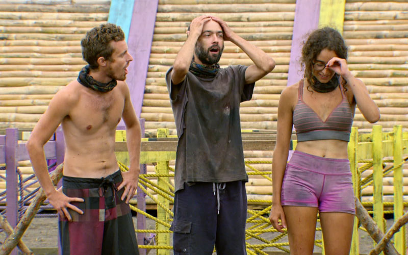 Survivor Millennials vs. Gen X, Adam, Dave, Hannah