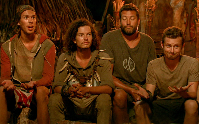 Survivor Millennials vs. Gen X, Will, Jay, Bret, Adam