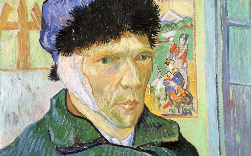 Van Gogh, Self Portrait with Bandaged Ear