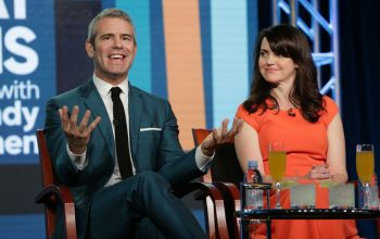 Watch What Happens Live with Andy Cohen, Andy Cohen, Deirdre Connolly, TCA January 2017