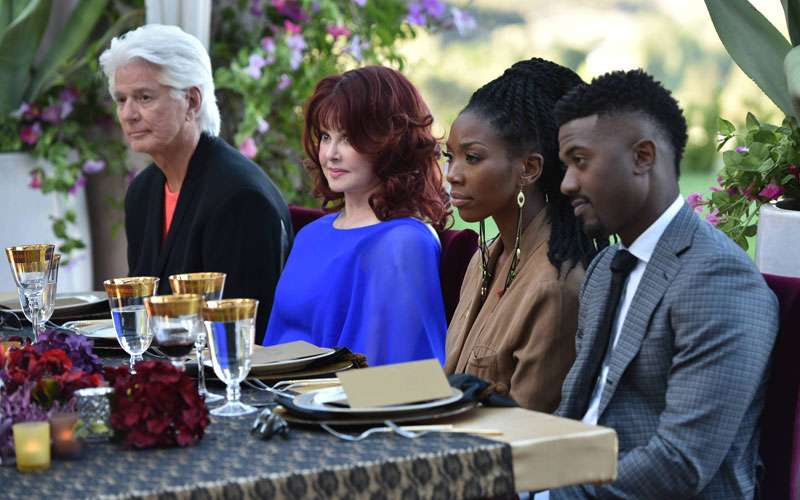 My Kitchen Rules, Larry Strickland, Naomi Judd, Brandy, Ray J