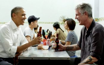 Barack Obama, Anthony Bourdain, Parts Unknown, CNN