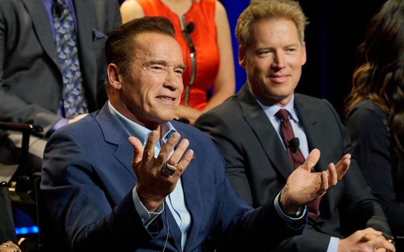 Arnold Schwarzenegger, Patrick Knapp Schwarzenegger, New Celebrity Apprentice, NBC