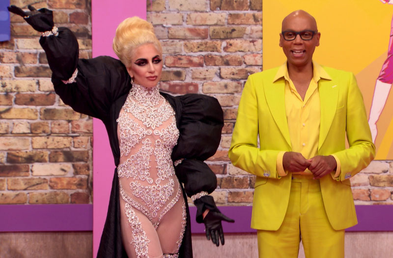 Lady Gaga, RuPaul Charles, RuPaul's Drag Race season nine