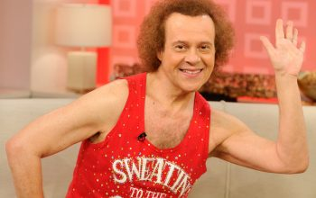 Richard Simmons, Today Show, 2010