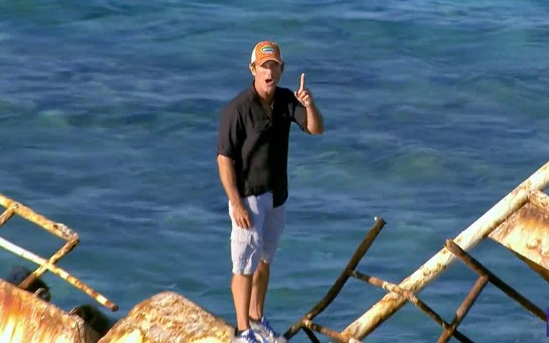Survivor Game Changers, Jeff Probst, shipwreck