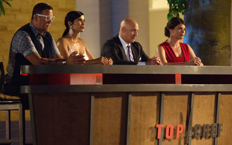 Top Chef, Graham Elliot, Padma Lakshmi, Tom Colicchio, Gail Simmons