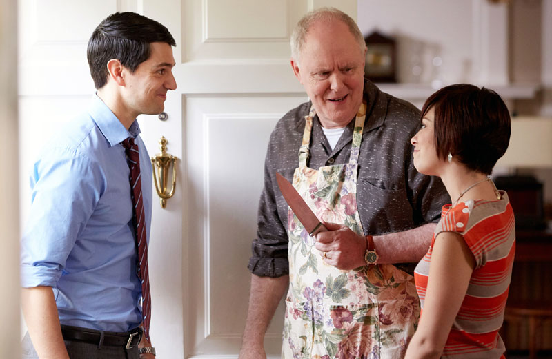 Trial & Error, Nicholas D'Agosto as Josh, John Lithgow as Larry, Krysta Rodriguez as Summer