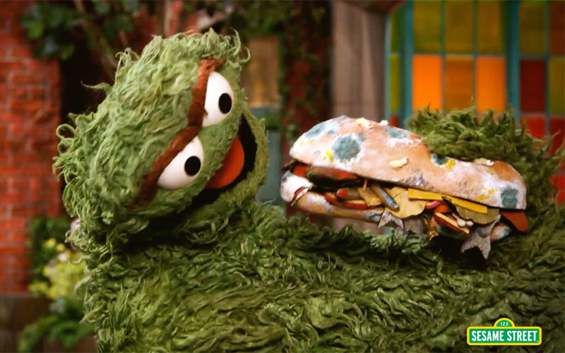 Oscar the Grouch, Sesame Street Real Housewives parody