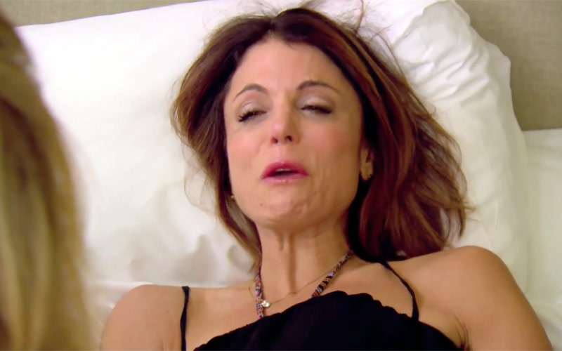 RHONY, Bethenny, it's about Tom aftermath