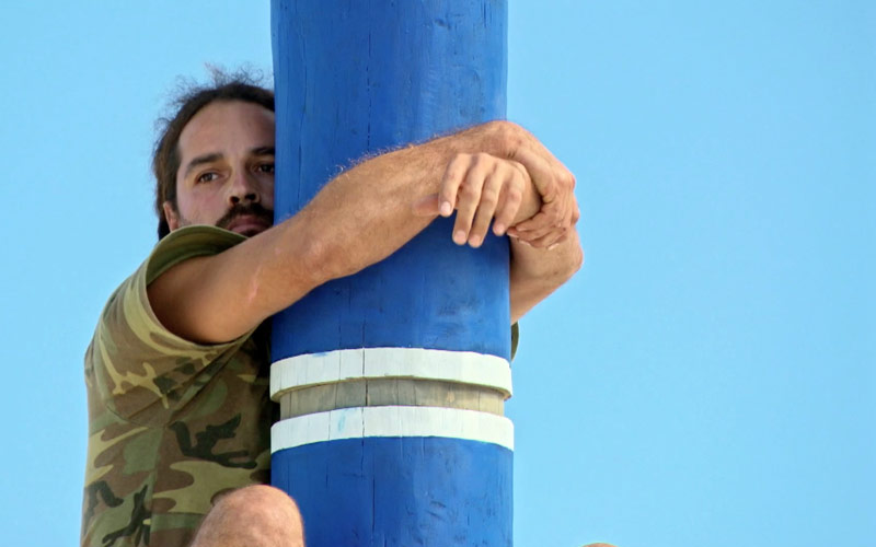 Image result for survivor game changers tai on the pole